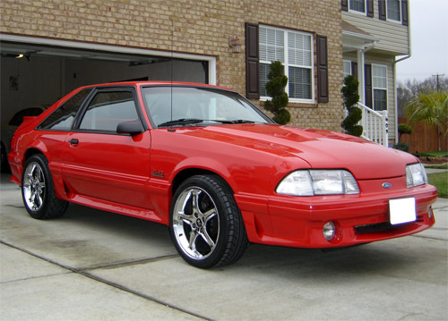 Adrian Mungo's 1991 Ford Mustang GT
