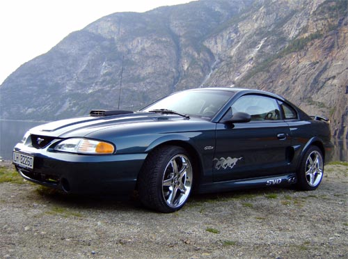 Atle  Osen's 1997 Ford Mustang GT