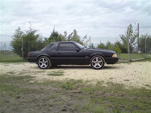 Abel  Rodriguez's 92 ford  mustang