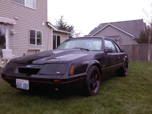 Alex Balogh's 1986 Ford Mustang Gt