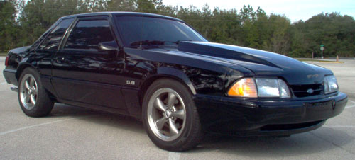 Andrew Hunter's 1987 Ford Mustang LX