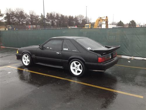 Andrew Purvis' 1989 Ford Mustang GT