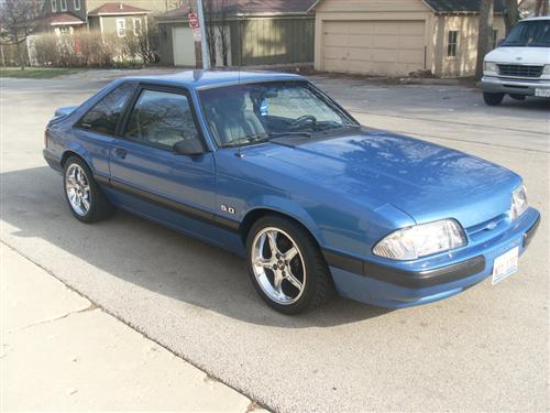 Andrew Whittenburg's 1989 Ford Mustang