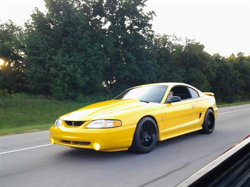 angelica martin's 1998 ford mustang gt