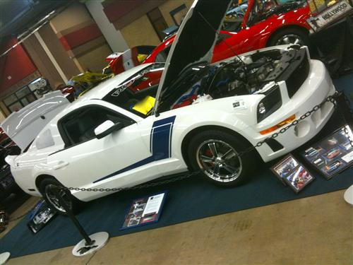 Annie  Muzzio's 2007 Ford  Mustang
