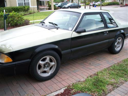 anthony capo's 1987 ford mustang Lx