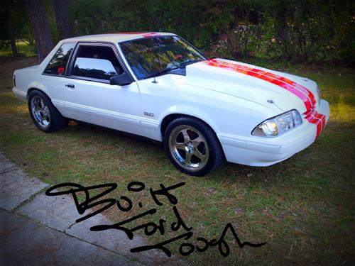 1989 Ford Mustang - Anthony McDaniel's 1989 Ford Mustang