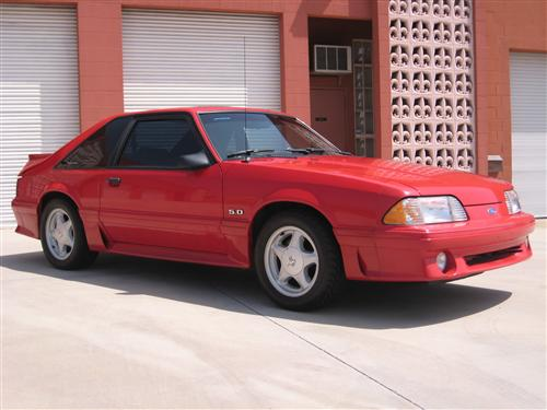 Arturo Abarca's 1990 Ford Mustang GT 5.0