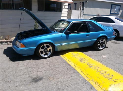 benedict erazo's 1987 ford mustang lx