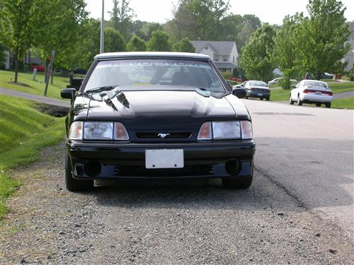 Bill White's 89 Ford Mustang GT Convertible
