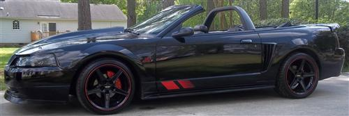 2003 Ford Mustang GT Convertible - Bill Wiebe's 2003 Ford Mustang GT Convertible