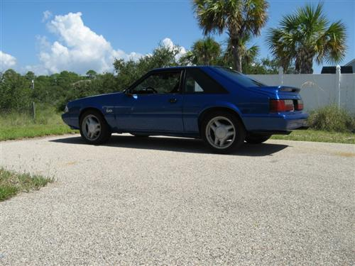 billy shirah's 1989 ford mustang