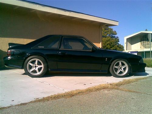 Brandon Bluford's 1993 ford cobra