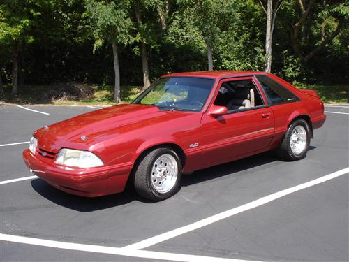 Brandon Gordon's 1992 Ford Mustang LX
