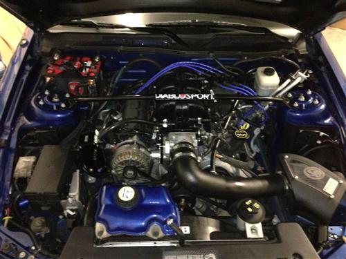 2007 Mustang V6 with pony pkg. - Brandon Schaffner's 2007 Mustang V6 with pony pkg.