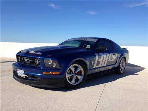 Brandon Schaffner's 2007 Mustang V6 with pony pkg.