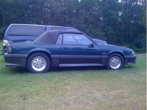 brent goodwin's 1993 ford mustang