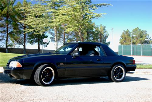 Brian Belto's 1991 mustang LX Conv