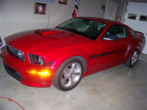 Brooke Mitchell's 2009 Ford Mustang GT/CS