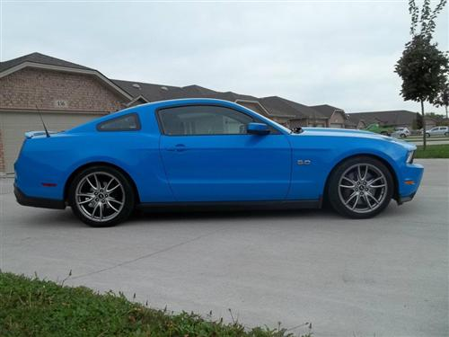Bryon Malott's 2011 Ford Mustang GT