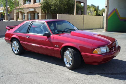 1993 Ford Mustang LX - Casey  Jones' 1993 Ford Mustang LX