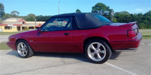 Carl Stokes' 1998 Ford Mustang LX Convertable