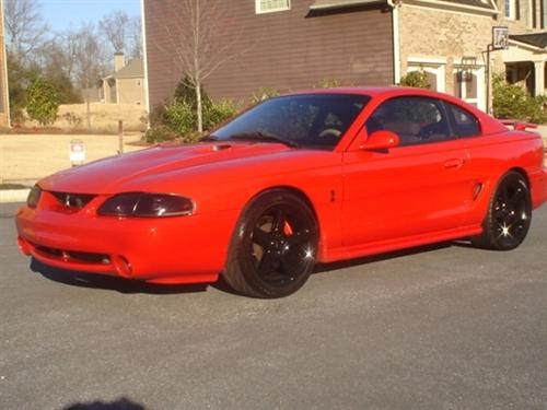 Casey Reed's 1997 Mustang Cobra