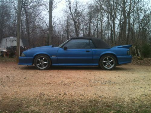 charles  smith's 1991  ford mustang