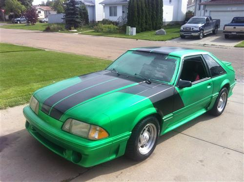 Charles Anderson's 1989 Ford Mustang GT