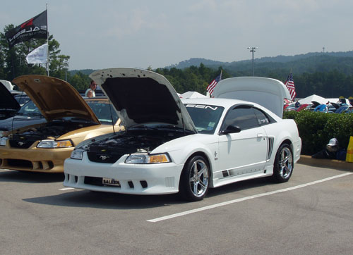 Charles Blair's 2000 Ford Saleen S-281
