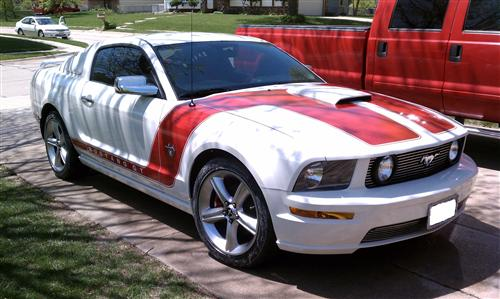 Charles Chamberlin's 2009 Ford Mustang