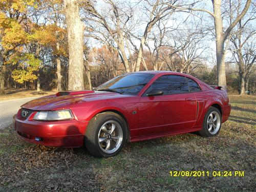 charles hughes' 2003 ford mustang gt