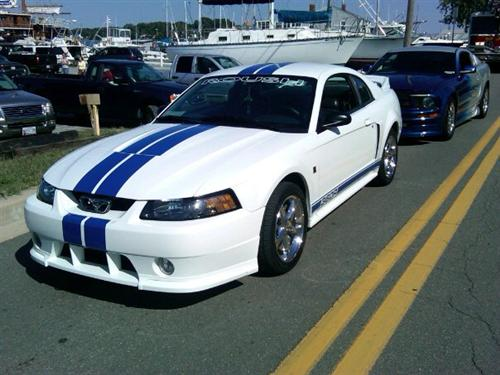 chester martin's 2002 roush 360 R