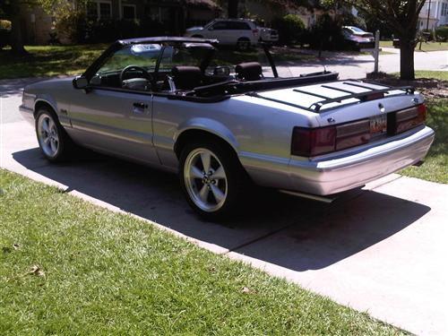 Chris  Durbin's 1991 Ford Mustang LX