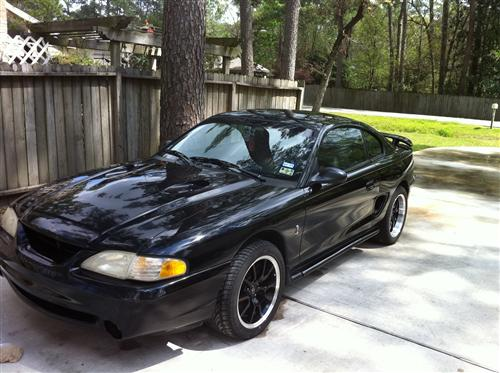 1997 Ford Mustang Cobra - Chris Miller's 1997 Ford Mustang Cobra