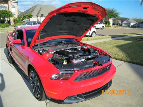 Chris Mott's 2011 Ford Mustang GT/CS