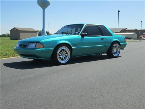1993 Ford Notchback - Chris Winfield's 1993 Ford Notchback