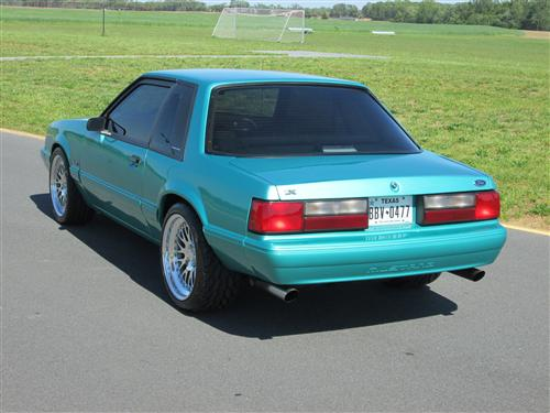 Chris Winfield's 1993 Ford Notchback