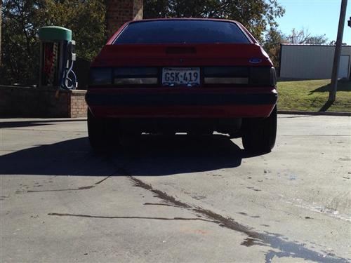 cody childers' 1990 ford mustang