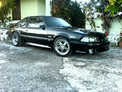 Cortez Simmons' 1991 Ford Mustang G.T