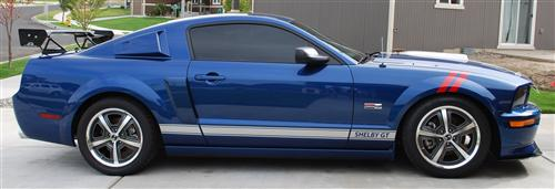 Dana Holmes' 2008 Ford Mustang - Shelby GT