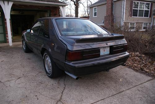 Daniel Canchola's 1988 Mustang Fox Body LX Hatchback