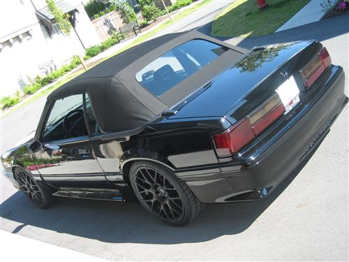 Darcy McMahon's 1993 Mustang  GT Convertible