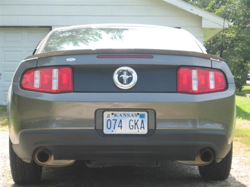 DAVID  FIELD's 2011 FORD MUSTANG