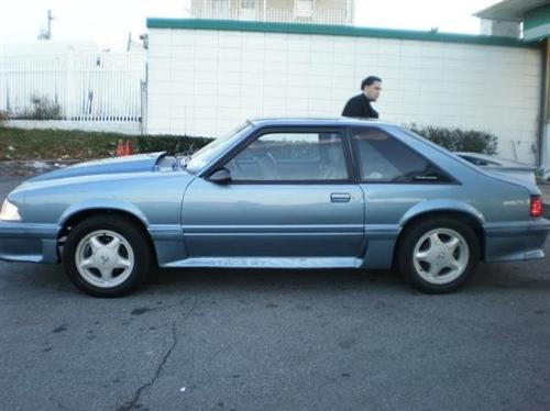 David Rodriguez's 1987 Ford Mustang gt