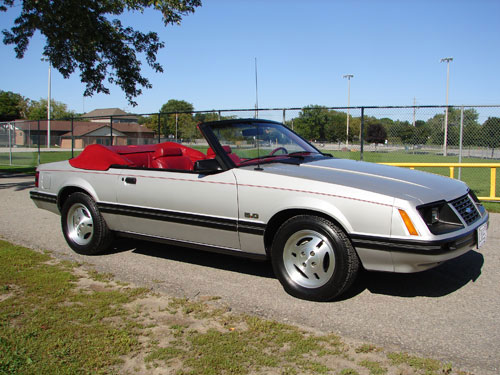 David Scheel's 1983 Ford Mustang GLX Convertible