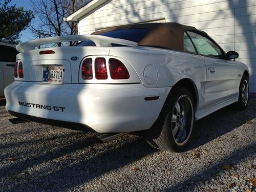 Drew VanBritson's 1996 Ford Mustang GT