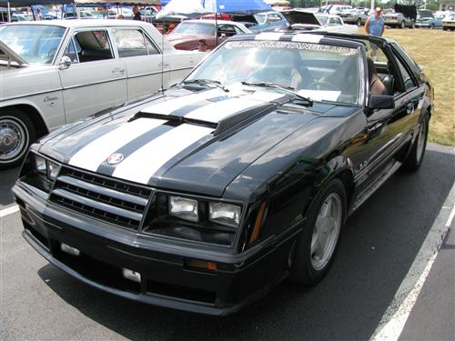Dustin Newton's 1982 Ford Mustang gt