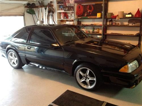 Dustin Powell's 1989 Ford Mustang