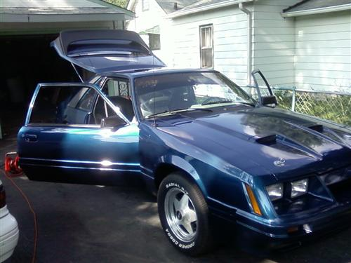 dusty werner's 1986 ford mustang